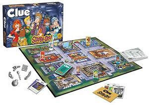Clue Scooby-Doo Edition Board Game
