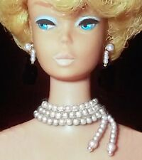 Barbie Dreamz WHITE PEARL #983 Enchanted Evening Necklace Vintage Jewelry REPRO