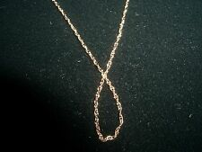 14K gold chain jewelry solid yellow gold 18 inches necklace fine jewelry M18