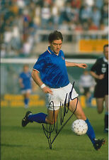 Roberto MANCINI SIGNED Autograph 12x8 Photo AFTAL COA Italy World Cup