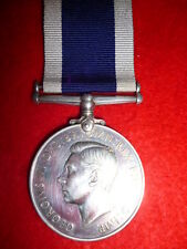 George VI Naval LSGC Medal to H.M.S. GALATEA. (Sunk Dec.1941 by U-Boat)