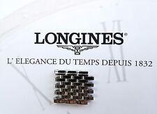 Longines ACCIAIO INOX 3 nastro arti parti 16 mm per la grande classique modelli