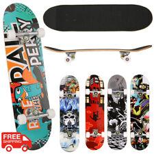 Portable Skateboard Drop down Drop Through Cruiser Canadian Maple Longboard US