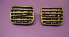 RENAULT CLIO AIR VENTILATION DASHBOARD GRILL LEFT AND RIGHT GREY COLOUR PAIR