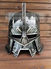 Medieval Moria Dwarves Blued Helmet Halloween Costume