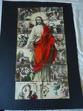 Scarce Composite Set of 12 postcards, Jesus Christ, Cairo Postcard Trust