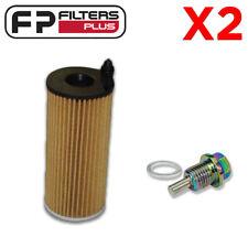 2 x WCO159 Oil Filter + MSP1215 Magnetic Sump Plug - Mini R60 T/Diesel - R2808P