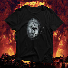 Halloween Mystery Slasher T-Shirt - Mike Michael Myers - Creepy Spooky Blood