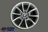 "BMW 5 Series 2 E60 E61 Silver Alloy Wheel Rim 17"" 8J ET:20 V-Spoke 245 6777348"