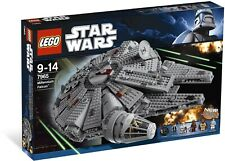 "NEW SEALED LEGO 7965 STAR WARS MILLENNIUM FALCON A NEW HOPE MODEL 15"" WIDE"