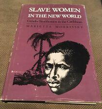 Slave Women In New World Gender Stratification Caribbean Marietta Morrissey HC