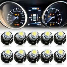 50x T3 LED Bulbs Neo Car Wedge Instrument Dashboard Gauge Cluster Light White