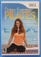 Daisy Fuentes Pilates SEGA Nintendo Wii Game SEALED Tone Strengthen Transform
