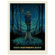 Dave Matthews Band Poster 2014 Noblesville  N1 Numbered #/1000 Rare!!!