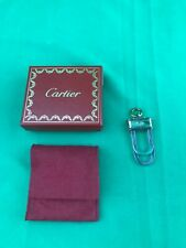 """Cartier """"3 Rings Decor"""" Money Clip 925 Silver & Stainless Steel"""