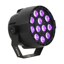 IBIZA LUCE UV LED PAR 12 x 2 W Blacklight Spot Luce Ultravioletta