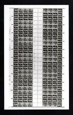 POST OFFICE PHOTOGRAPH OF UNCUT 50p BOOKLET PANES