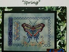 Turquoise Graphics & Designs Cross Stitch Chart Spring
