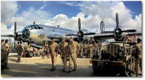 The Peacemakers by John Shaw - B-29 Enola Gay - A/P - Aviation Art Print
