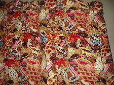 Chef Food Pie Cupcake Cake Cookie Novelty Kitchen Window Valance Decor