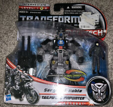 Transformers DOTM Human Alliance Sergeant Noble Tailpipe & Pinpointer unopened.