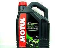 Motoröl 10W40 4Liter Motul 5100 4T 4-Takt 10W-40 Motorradöl Öl JASO MA2 API SL