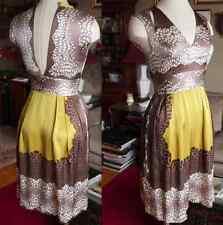 New sz 4 US / 8 UK Issa London printed silk dress, $695