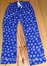 Old Navy Ladies Printed Pajama Pants- BLUE & WHITE - SIZES - XS,M,XL & XXL - NEW