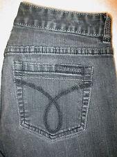 Calvin Klein Pencil Stretch Womens Black Denim Jeans Size 27 / 4 x 32  WF30A93