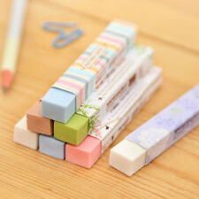2x Korean Style Pencil Rubber Eraser Erasers School Stationery Kids Student Gift