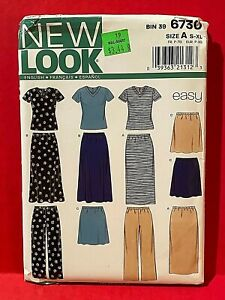 Simplicity Sewing Pattern Women's Top, Skirt, and Pants Size S-XL Uncut