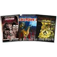 Creepshow + Creepshow 2 + Creepshow 3: Complete 3 Movie Collection Box/DVD Sets