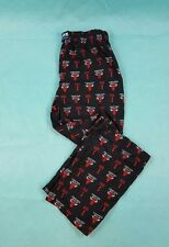 Chicago Bulls UNK All Over Print Pajama Pants - Black- NBA adult L 36/38 rose #1
