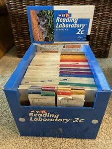 SRA Reading Laboratory 2C 1996 Ed Lab Remote Learning Near Complete Grade 4-6