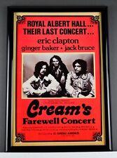 CREAM Super Group Classic Rock 13x19 Replica Concert Music Poster NMint No Frame