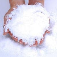 Fluffy Instant Xmas Magic Snow Powder Artificial Christmas Decoration Fake