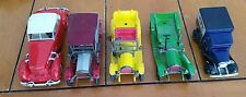 Vintage Matchbox Lesney Models of Yesteryear - lot of 5