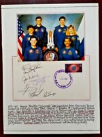 STS-60 SPACE SHUTTLE 'DISCOVERY' FDC SIGNED BY 5 US and 2 RUSSIAN - 1994