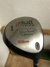 Wilson Staff Titanium 1 Driver Golf Club