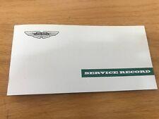 Aston Martin Heritage Service Record Book