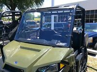 A&S POLARIS RANGER 570 MIDSIZE 3/16 POLYCARBONATE FULL WINDSHIELD 2015-2020