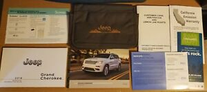 2018 JEEP GRAND CHEROKEE Owners Manual Essential Guide Set + Case COMPLETE SET