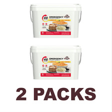 Emergency Food Supply 4 Person Kit 55 Serving Storage Quick Meal Survival Bucket