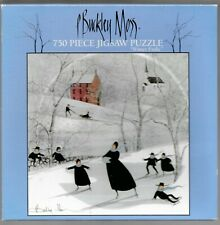 Winter Frolic By P. Buckley Moss - Complete - Puzzle