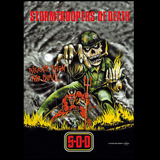 STORMTROOPERS OF DEATH - DEVIL - FABRIC POSTER - 30x40 WALL HANGING - HFL0256