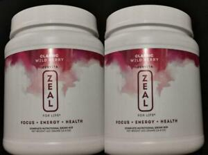ZURVITA -ZEAL FOR LIFE (CLASSIC) WILD BERRY- 420g EXP:04/2022 (2 -CANISTER)