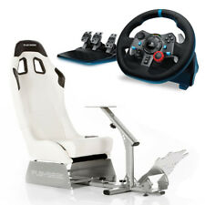 Playseat Evolution White with Logitech G29 Racing Wheel Bundle