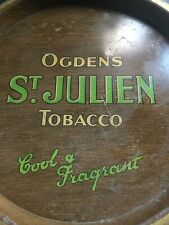 Ogdens Tobacco Tray Tobaccocana St.Julien 1938