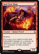 SOUL-SCAR MAGE Amonkhet MTG Red Creature — Human Wizard Rare