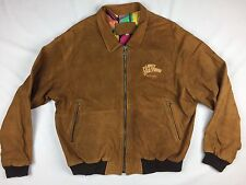 Planet Hollywood Tony Nowak Custom Made  Suede Jacket Founder Keith Barish